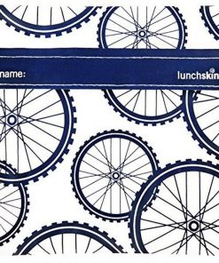 Lunchskins Navy Bike