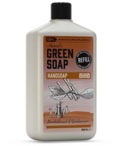 Marcel's Green Soap Handzeep navulling - Sandelhout & Kardemom